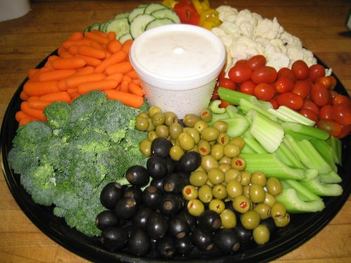 Vegetable tray recipes